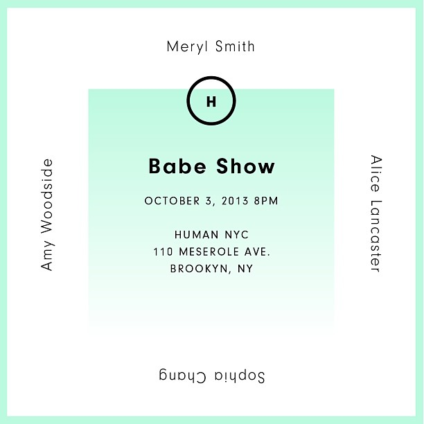 BABE SHOW FLYER